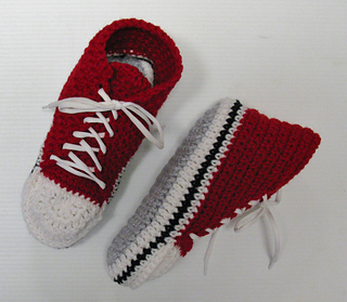 Ravelry Adults Converse Slippers Pantoufles Converse
