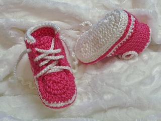 Ravelry Baby Converse Slippers Converse Pour Bébés