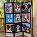 Corner to Corner Dog Blanket pattern