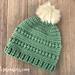 Bead Stitch Hat pattern