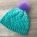 Lacy Puff Stitch Hat pattern