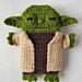 Star Wars - Yoda - iPhone 5, 6, 7 case pattern