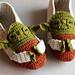 Star Wars Yoda Slippers pattern
