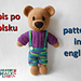 Crochet Teddy Bear in Pants and T-shirts pattern