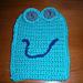 Froggie Bath Mitt pattern