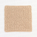 Alternating Spike Stitch Washcloth pattern