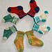 Hugs & Kisses Socks pattern
