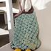 Mint Chocolate Market Bag pattern