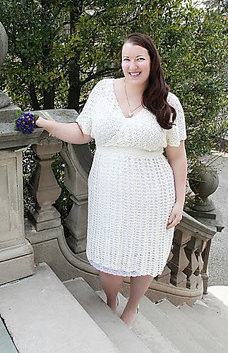 Ravelry: Plus Size June Bride Wedding Dress pattern by ...