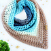 Solitaire Triangle Scarf pattern