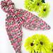 Mermaid Tail Scrunchie Scarf pattern