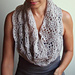 Infinity Lace Shell loop Scarf pattern