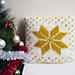 Nordic star pillow pattern