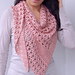Flower Dew Shawl pattern