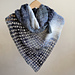 Silver drop shawl pattern