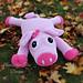 """Petunia"" the Pig Pillow Buddy pattern"