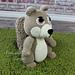 """""""Oakley"""" the Squirrel Cuddle Buddy pattern"""