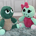 """""""Sheldon & """"Shelley"""" the Turtle Cuddle Buddies pattern"""