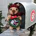 Teddy Bear Photo Frame Ornament pattern