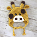 Giraffe Hat pattern