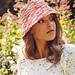 Adriafil Rafia Bucket Hat Cuba pattern