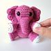 Elena the Tiny Elephant pattern