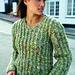 Moss Sweater pattern