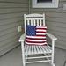 Flag Porch Pillow pattern