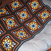 Stained Glass Window Afghan pattern