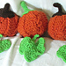 Akua's Cabled Pumpkin and Leaf pattern