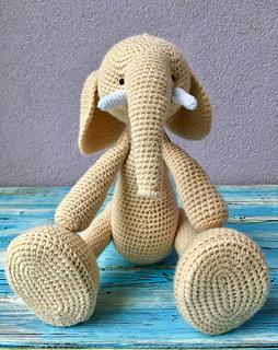Crochet elephant alabama elephant plush crochet alabama   Etsy   320x254