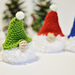 Puffball Gnome Ornament pattern