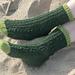 Hockney Socks pattern