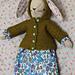 Little Hooded Coat for Rabbits pattern