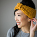 Simple Seed Stitch Headband pattern