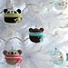 Amigurumi Teddy Ornaments pattern