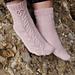 Lonely Bloom Socks pattern