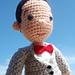 Pee Wee Herman Amigurumi PeeWee Doll pattern
