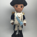 George Washington Hamilton Amigurumi pattern