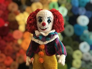 Amigurumi Clown Free Crochet Patterns | Amigurumi modelleri ... | 240x320