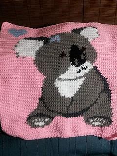 Fox baby blanket C2C baby blanket baby crochet blanket baby boy blanket baby girl blanket baby gift shower gift personnalized blanket