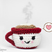 Cute Coffee cup Amigurumi pattern