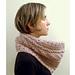 Love Wool Guernsey Cowl pattern