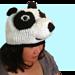 Kungfu Panda Inspired Beanie Hat  pattern