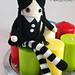 Miércoles Addams - Amigurumi pattern