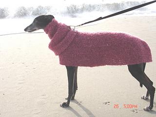 Quick Easy Greyhound Dog Sweater
