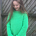 The Wanderer Sweater for Kids pattern