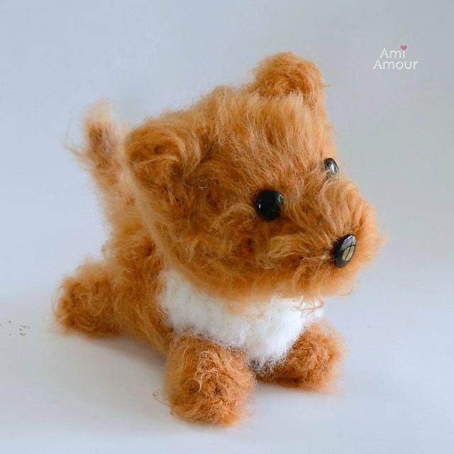 170 Crochet Pattern - Dog Dachshund Coconut - Amigurumi soft toy ... | 640x640