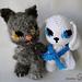 Ki en Po (hond en kat pattern