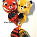 Bungelstaart - Rode Panda pattern
